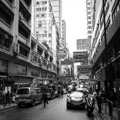 Classic B&W Hong Kong